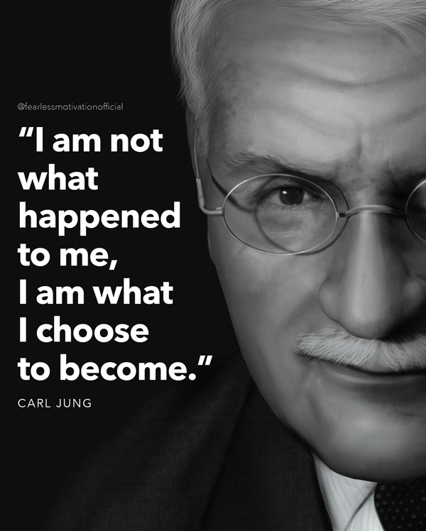 Carl Jung quote choose